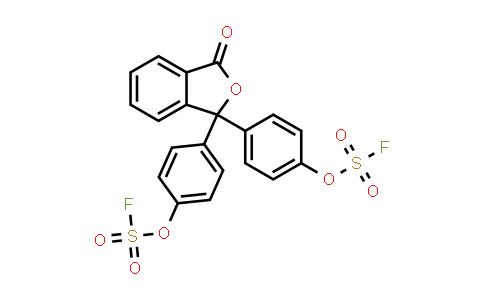 3,3-bis[4-[(fluorosulfonyl)oxy]phenyl]- 1(3H)-Isobenzofuranone