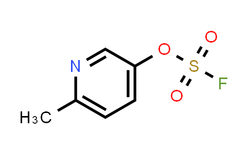 Fluorosulfuric acid, 6-methyl-3-pyridinyl ester