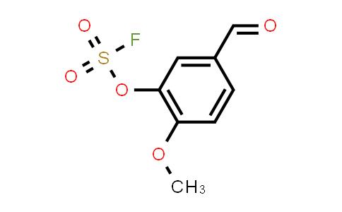 3-[(fluorosulfonyl)oxy]-4-methoxy- Benzaldehyde