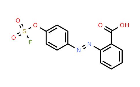 1839621-16-7 | 2-[(1E)-2-[4-[(fluorosulfonyl)oxy]phenyl]diazenyl]-Benzoic acid