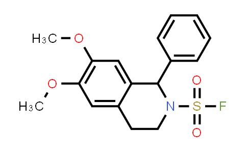 1839621-39-4   3,4-dihydro-6,7-dimethoxy-1-phenyl-2(1H)-Isoquinolinesulfonyl fluoride