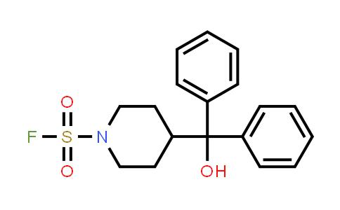 4-(hydroxydiphenylmethyl)- 1-Piperidinesulfonyl fluoride