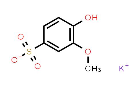 potassium 4-hydroxy-3-methoxybenzene-1-sulfonate