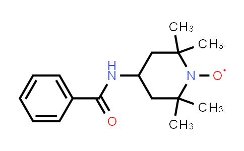 1-Piperidinyloxy, 4-(benzoylamino)-2,2,6,6-tetramethyl-