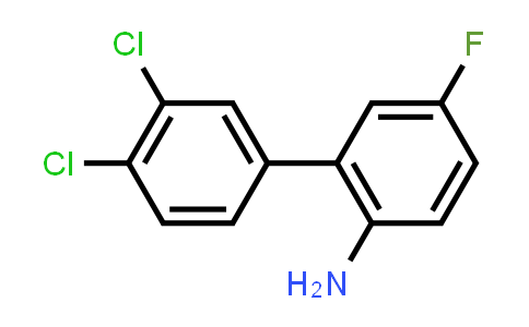 2-(3,4-Dichlorophenyl)-4-fluoroaniline