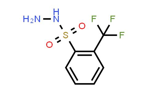 2-(trifluoromethyl)benzenesulfonohydrazide