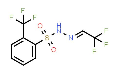 2236129-81-8 | Benzenesulfonicacid,2-(trifluoromethyl)-,2-(2,2,2-trifluoroethylidene)hydrazide