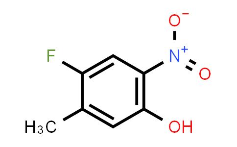 4-Fluoro-5-methyl-2-nitrophenol