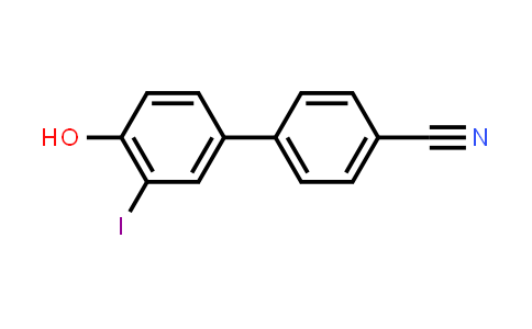4-(4-Hydroxy-3-iodophenyl)benzonitrile