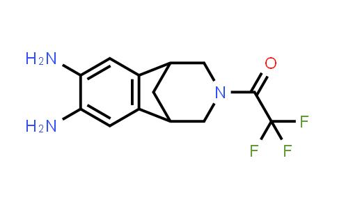2,3,4,5-Tetrahydro-3-(trifluoroacetyl)-1,5-methano-1H-3-benzazepine-7,8-diamine