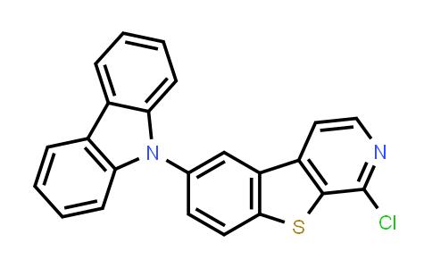6-Carbazol-9-yl-1-chloro-[1]benzothiolo[2,3-c]pyridine