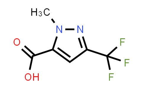 2-Methyl-5-(trifluoromethyl)pyrazole-3-carboxylic acid