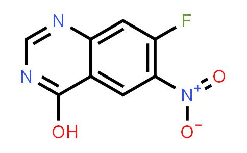 7-Fluoro-6-nitro-4-hydroxyquinazoline