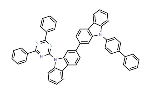 9-[1,1′-Biphenyl]-4-yl-9′-(4,6-diphenyl- 1,3,5-triazin-2-yl)-2,2′-bi-9H-carbazole
