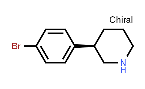 (3R)-3-(4-Bromophenyl)piperidine