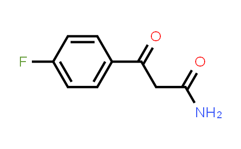 3-(4-fluorophenyl)-3-oxopropanamide