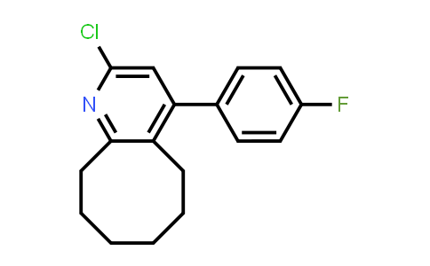 132813-14-0 | 2-chloro-4-(4-fluorophenyl)-5,6,7,8,9,10-hexahydrocycloocta[b]pyridine