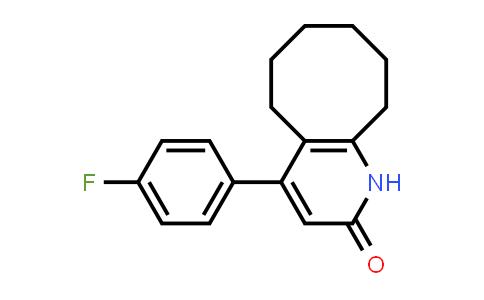 132812-72-7   4-(4-fluorophenyl)-5,6,7,8,9,10-hexahydro-1H-cycloocta[b]pyridin-2-one