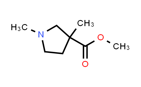 114725-00-7 | methyl 1,3-dimethyl-3-pyrrolidinecarboxylate