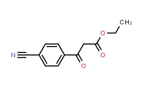 49744-93-6 | ethyl 3-(4-cyanophenyl)3-oxopropanoate