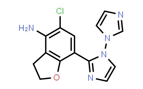 196308-41-5 | (4-amino-5-chloro-2,3-dihydro-7-benzofuranyl)-1H-imidazol-1-yl-1H-Imidazole