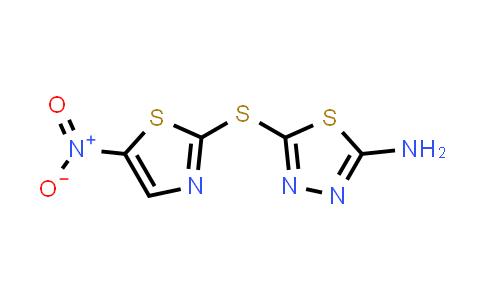 40045-50-9 | 5-[(5-nitro-1,3-thiazol-2-yl)sulfanyl]-1,3,4-thiadiazol-2-amine