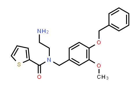 884049-35-8 | 2-Thiophenecarboxamide,N-(2-aminoethyl)-N-[[3-methoxy-4-(phenylmethoxy)phenyl]methyl]-