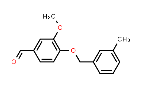 292173-01-4 | 3-Methoxy-4-[(3-methylbenzyl)oxy]benzaldehyde