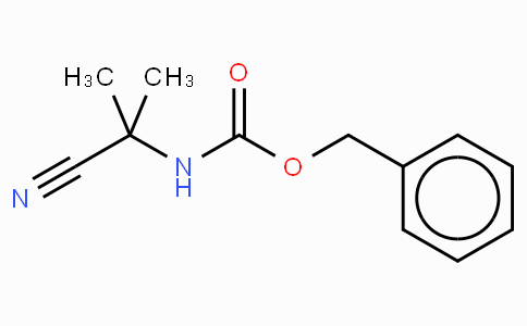 N-(1-cyano-1-methylethyl)-, phenylmethyl ester