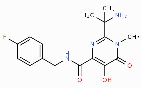 2-(1-Amino-1-methylethyl)-N-(4-fluorobenzyl)-5-hydroxy-1-methyl-6-oxo-1,6-dihydropyrimidine-4-carboxamide