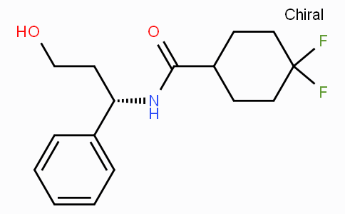 4,4-DIFLUORO-N-((1S)-3-HYDROXY-1-PHENYLPROPYL)CYCLOHEXANE-1-CARBOXAMIDE