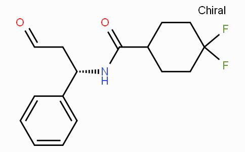4,4-DIFLUORO-N-((1S)-3-OXO-1-PHENYLPROPYL)CYCLOHEXANE-1-CARBOXAMIDE