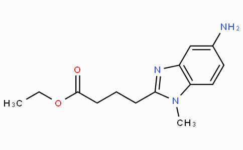 4-(5-amino-1-methyl-1H-benzoimidazol-2-yl)-butyric acid ethyl ester