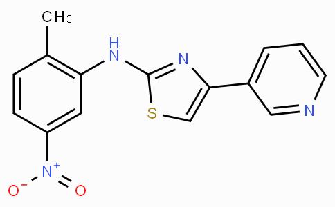 N-(2-methyl-5-nitrophenyl)-4-(pyridin-3-yl)thiazol-2-amine