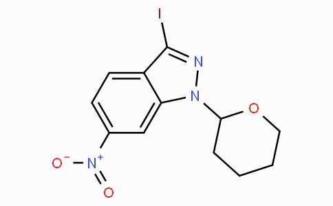 3-iodo-6-nitro-1-(tetrahydropyran-2-yl)-1H-indazole