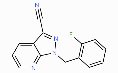 1-(2-fluorobenzyl)-1H-pyrazolo[3,4-b]pyridine-3-carbonitrile