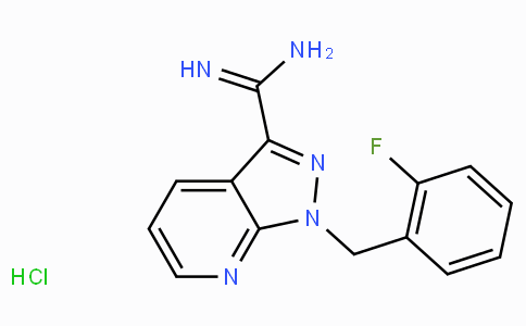 1-(2-Fluoro-benzyl)-1H-pyrazolo[3,4-b]pyridine-3-carboxaMidine hydrochloride