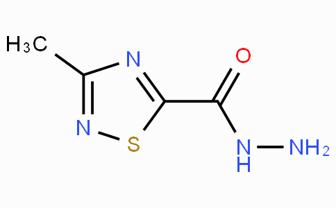 3-Methyl-1,2,4-thiadiazole-5-carbohydrazide