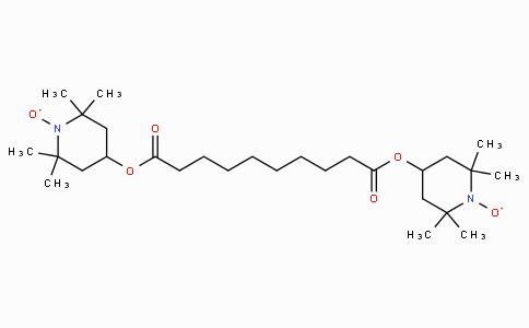 Bis(2,2,6,6-tetramethyl-1-piperidinyloxy-4-yl)sebacate