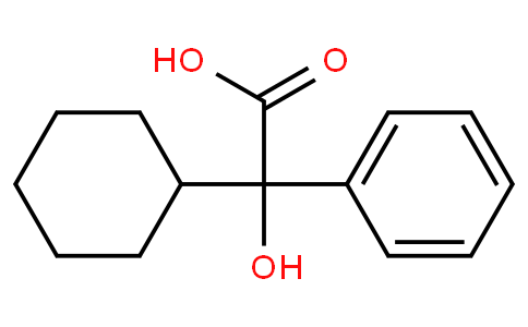 4335 77 7 2 Cyclohexyl Hydroxy Phenylacetic Acid
